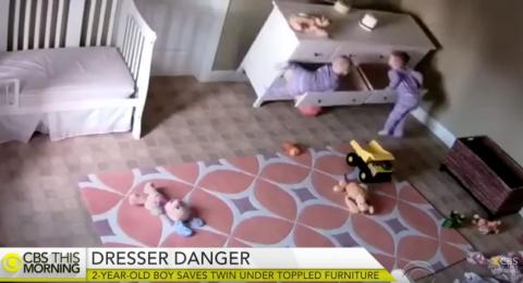 2-year-old saves brother