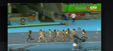 Women's 1500 Meter Run (Rio Olympic)