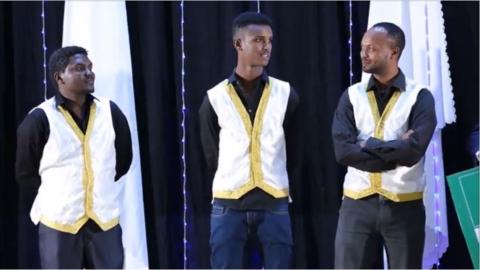 Azareyas, Zelalem and Demamu's seech on Yemaleda Kokeboch