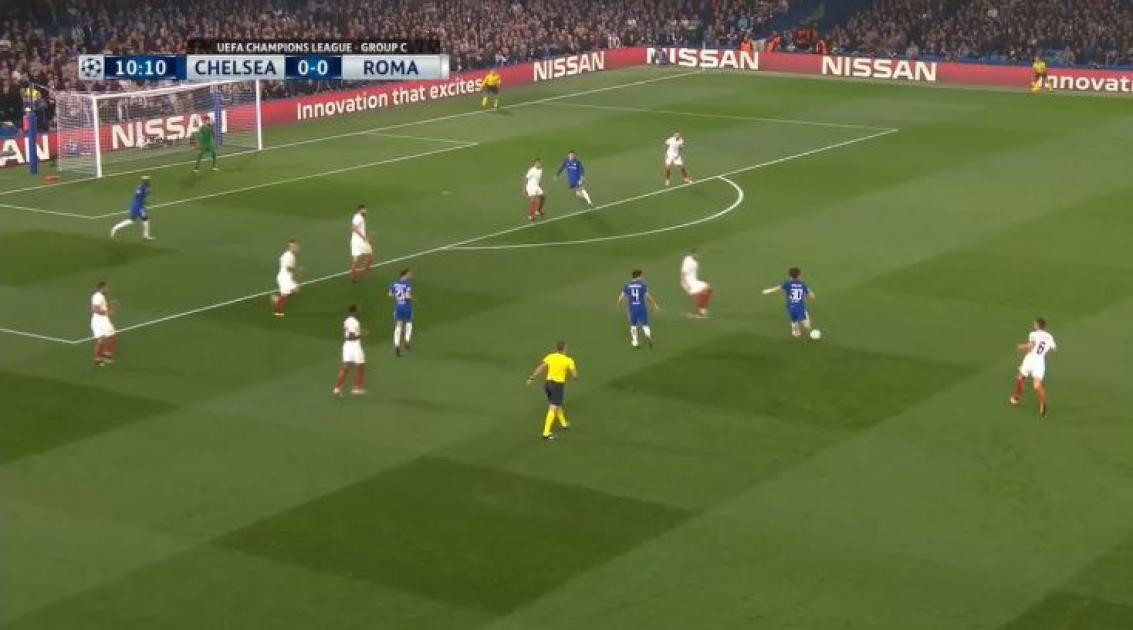 David Luiz's beautiful goal for Chelsea