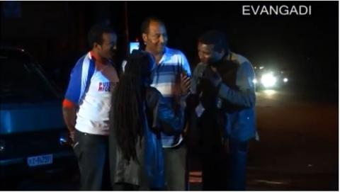 Enten Yenoral - Embarrassing Scene From Hewan Endewaza Film