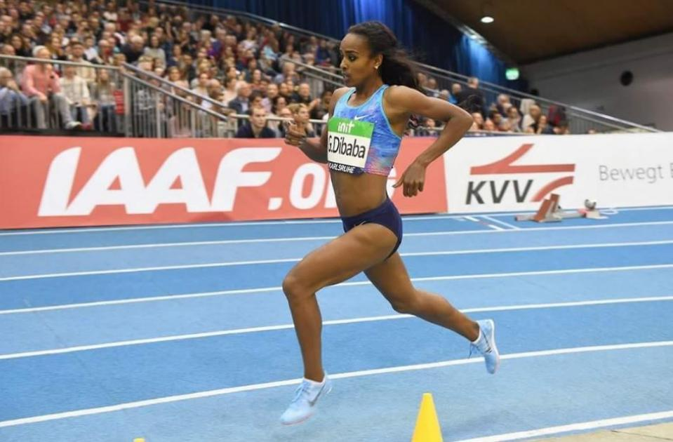 Genzebe Dibaba Runs Second Fastest Indoor 1500M Of All-Time
