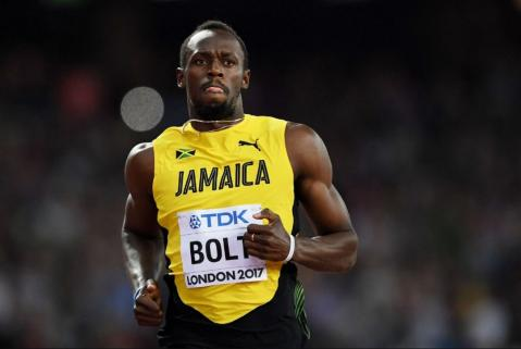 Usain Bolt finishes third to Americans Justin Gatlin, Christian Coleman in final 100 meters race