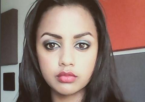 Actress Mastewal Wondesen's photo combinations