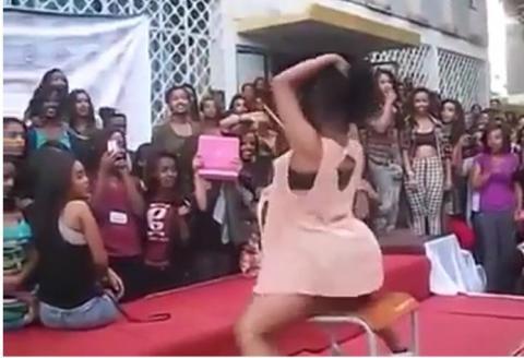 Ethiopian High school Students - Twerking