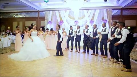 Bakal's and Meron's wedding ceremony - Ethiopian Wedding