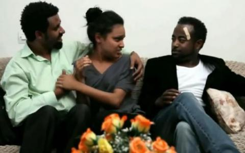 Selam Tesfaye's and Tariku Birhanu's Funny Video From Martreza Movie