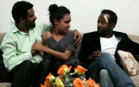 Selam Tesfaye's and Tariku Birhanu's Funny Video From Martreza Movie