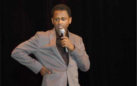 Meskerem Bekele's stand up comedy