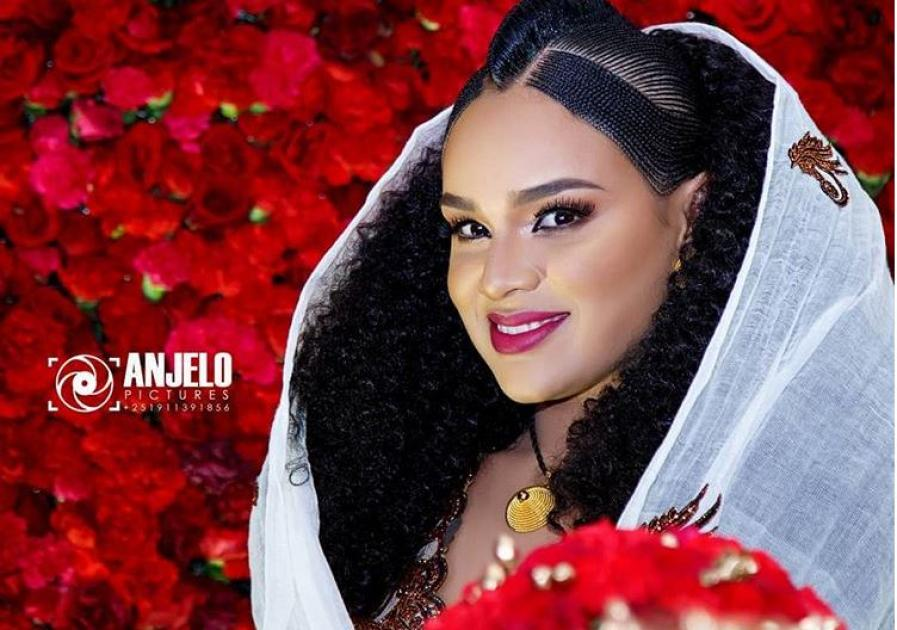 Ethiopian Movie Star Selam Tesfaye's Traditional Wedding Shower