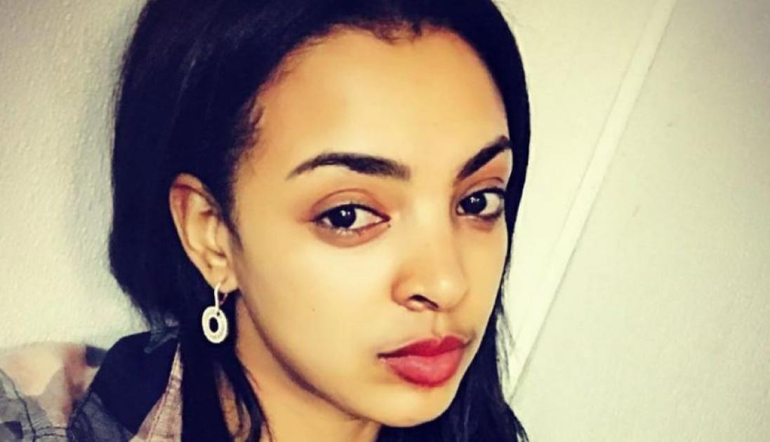 Girl confronts street harasser (Ethiopian movie scene)