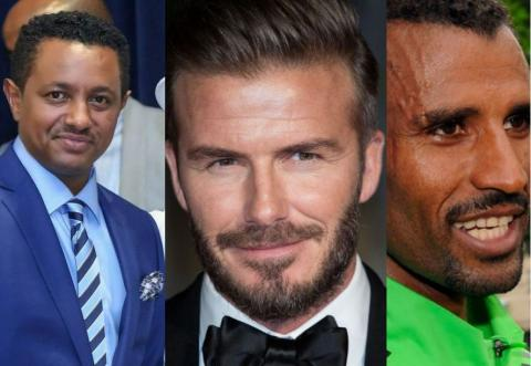 Teddy Afro, Gebreegziabhere and David Becam - selected as UNICEF's super Dad