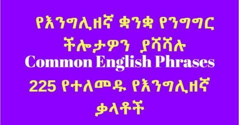 225 Common English Phrases - Daily English Conversation
