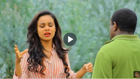 Selam Tesfaye's funny scene from Tilefegn movie