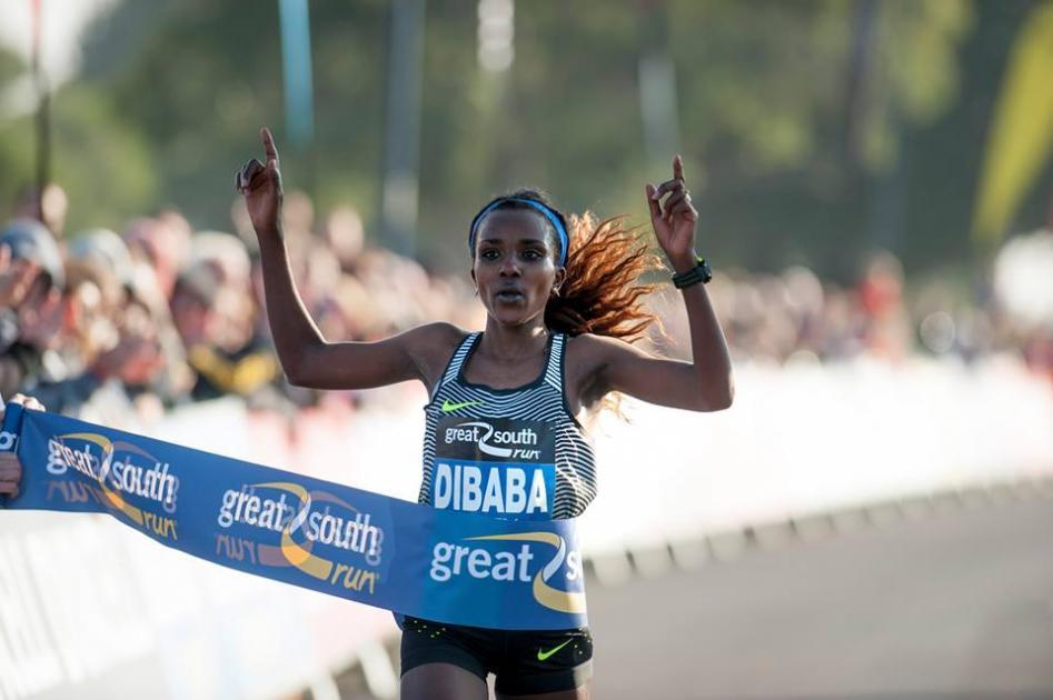 Tirunesh Dibaba wins Chicago marathon