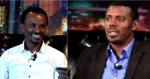 Comedy Theater by Alemayehu Tadesse and  Fikadu Kebede