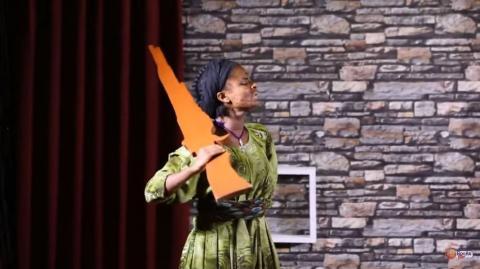 Tseganesh Getachew's performance on Yemaled Kokeboch