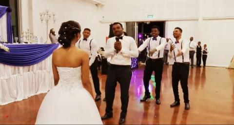 Kahsay and Mimi's Wedding - Ethiopian Wedding