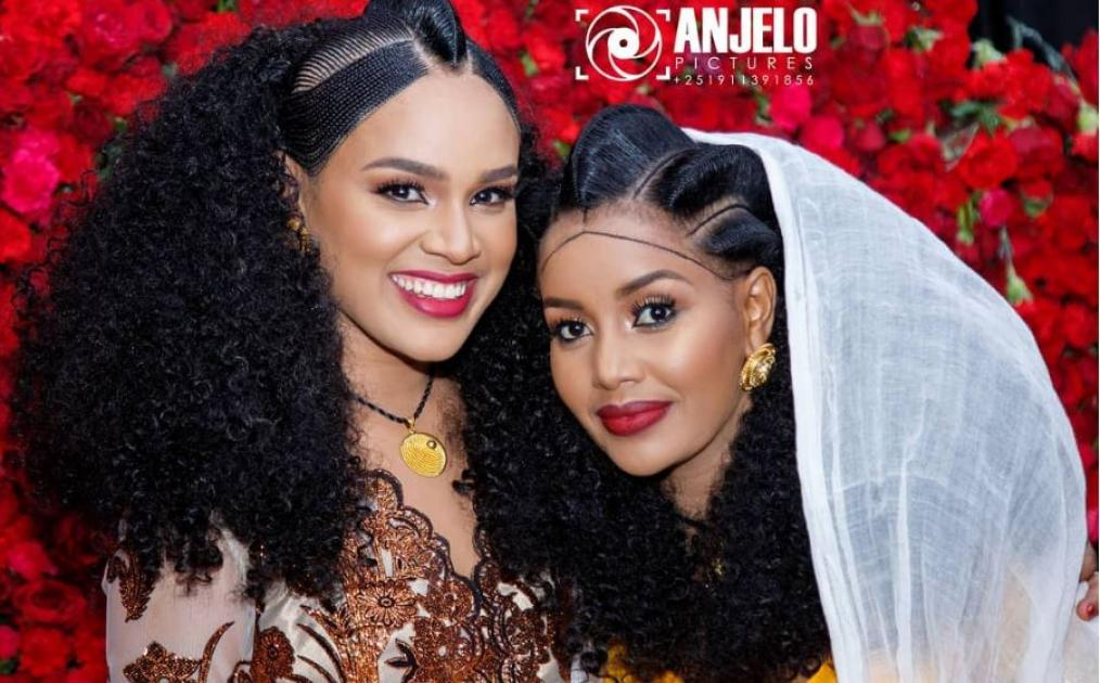Selam Tesfaye's Pre Wedding  Ga'at Ceremony