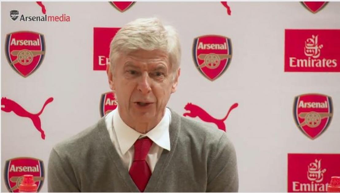 Arsene Wenger's Pre-Match Press Conference