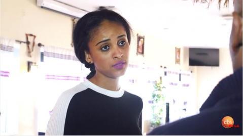 Senselet drama scene showing Ethiopian In US
