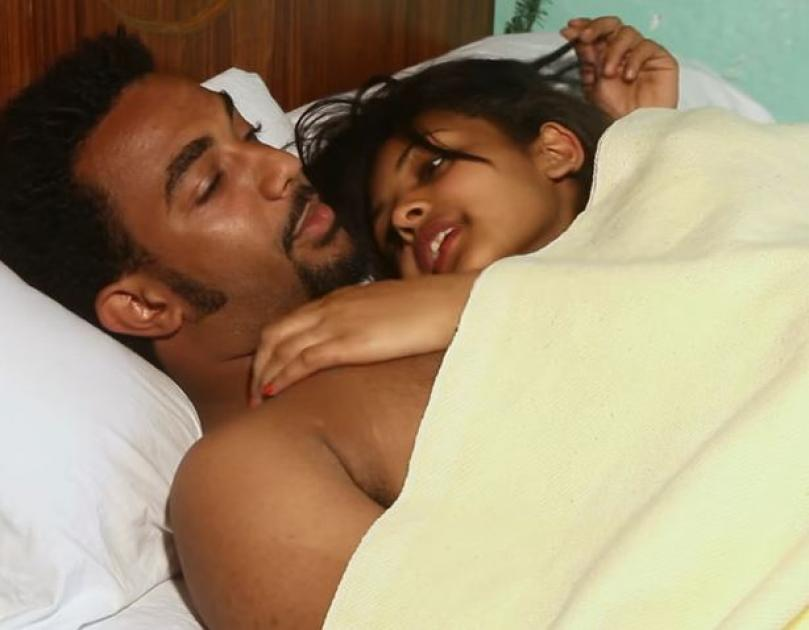 Romantic Scene From Leman Beye Film