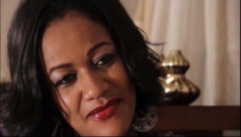 Hiwote Abebes's and Mahedar Assefa's moment on Yebet Lij movie