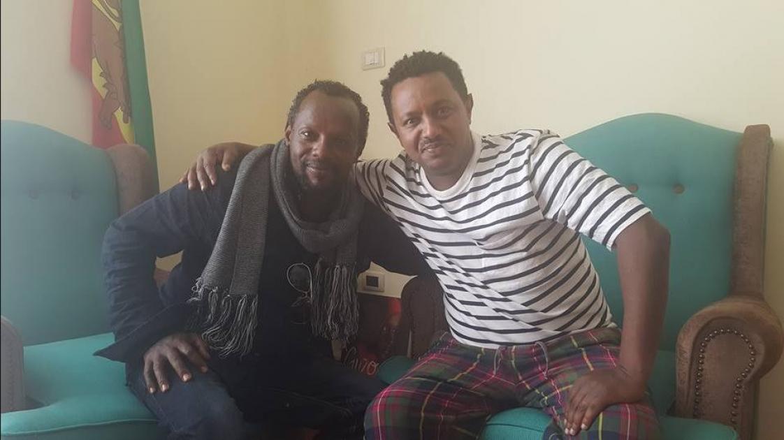 Teddy Afro invited journalist Temesgen Desalegn