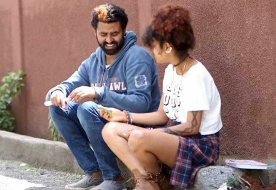 Yemechish Ye Arada Lij  Movie Scene Showing Human Kindness