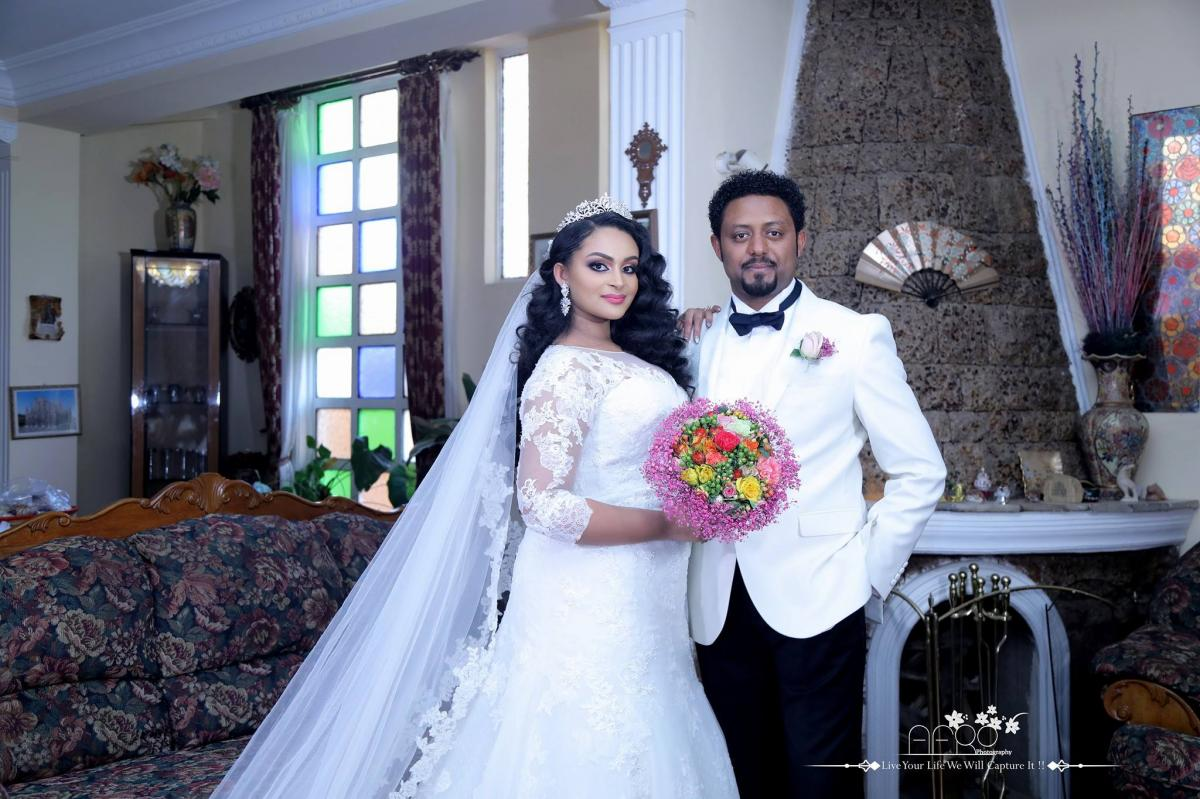 Aritist Daniel Tegegn And Aby Merawi's Wedding Video - Part 1
