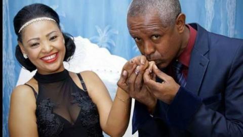 Comedian Dereje Haile get married