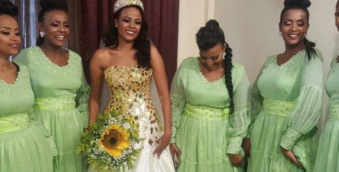 Mekedes Tsegay's First Interview After Her Wedding