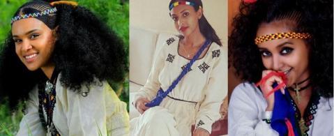 Selam Tesfaye, Feryat Yemane and Ruta Mengesteab celebrated Ashenda