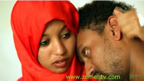 Couples romantic scene from Zemen drama