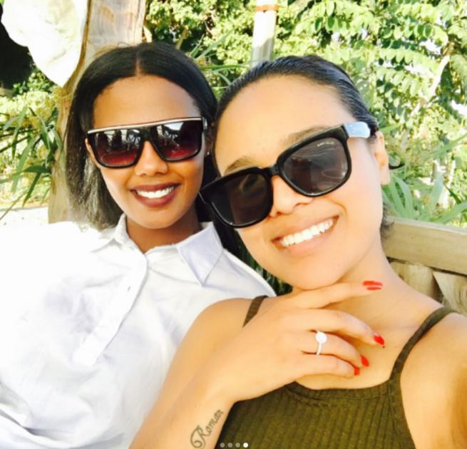Selam Tesfaye got engaged with her fiance Amanuel Tesfaye