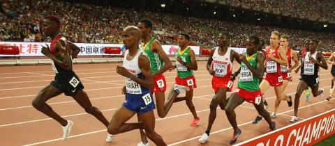5000m men  - IAAF World Championships London