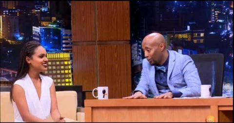 Seifu On EBS - Interview With Artist Selam Tesfaye
