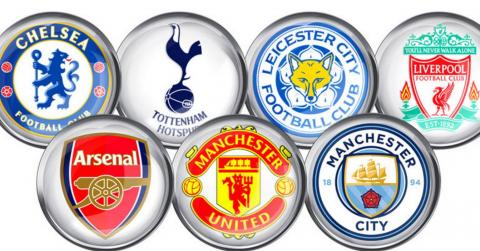 english Premier League Standings - week 36, 2017