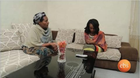A Mother And Daughter Discussion Scene From Bekenat Mekakel Drama