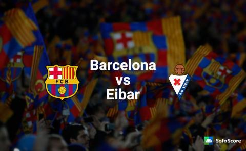 Barcelona fc vs Eibar