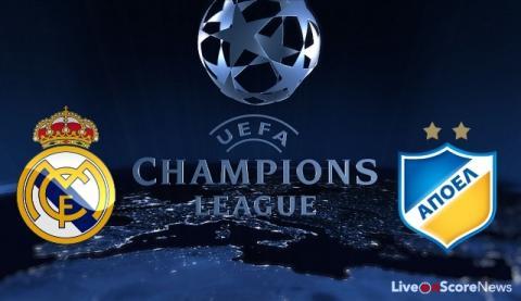 Real Madrid vs Apoel Nicosia