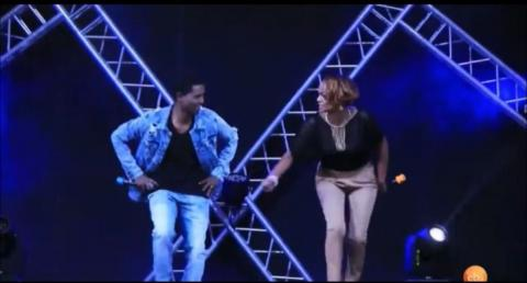 Feta show host's dancing with Teddy Afro's music