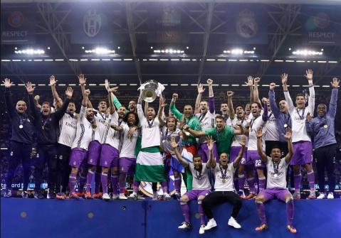 Real Madrid won 2016-17 UEFA Champions League