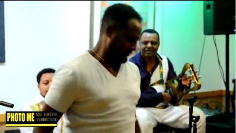 Ethiopian artists in Washington DC host a reception for Balageru Idol producer Abrahm Wolde